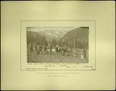 view Hayden Survey Party in Colorado, 1874 digital asset number 1