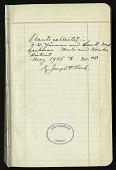 view Rock field book no. 16001-18850 digital asset number 1