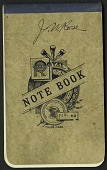 view Rose, field notes, Mexico digital asset number 1