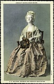 view Postcard of a Dress of Martha Washington digital asset number 1