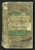 view Joseph Henry Notebook, Oil and Oil Lamps, 1865 digital asset number 1
