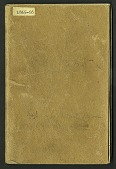 view Joseph Henry Notebook, Sound, Weather, 1865-1866 digital asset number 1