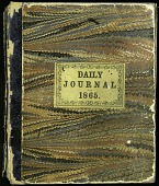 view Joseph Henry's Daily Journal, 1865 digital asset number 1