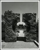 view Moongate, Entryway to Sackler Garden digital asset number 1