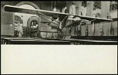 """view Postcard of the """"Spirit of St. Louis"""" digital asset number 1"""