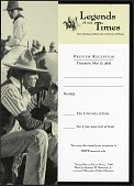"view RSVP Postcard for ""Legends of Our Time"" Exhibit digital asset number 1"