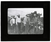 "view Folder 3H Vernon Orlando Bailey, Clinton Hart Merriam, Theodore Sherman Palmer and Albert Kenrick Fisher, 1891: ""Four Bad Men of Death Valley"" digital asset: Vernon Orlando Bailey, Clinton Hart Merriam, Theodore Sherman Palmer and Albert Kenrick Fisher, 1891: ""Four Bad Men of Death Valley"" (Image no. SIA2013-08303)"