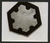 view Wilson Bentley Photomicrograph of Stellar Snowflake No. 122A digital asset number 1