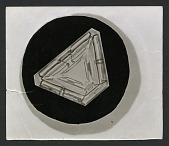 view Wilson Bentley Photomicrograph of Lamellar Snowflake No. 350 digital asset number 1