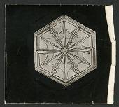view Wilson Bentley Photomicrograph of Lamellar Snowflake No. 263 digital asset number 1