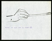 view Sketch of Position of Right Hand for Mannequin Model B digital asset number 1