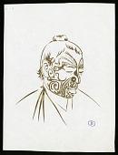 view Sketch of Mannequin Model B digital asset number 1