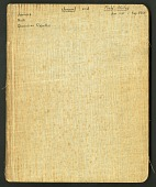 view Journal of Richard E. Blackwelder, West Indies, vol. 1 digital asset number 1