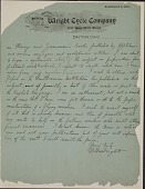 view Letter from Wilbur Wright to Samuel P. Langley, dated May 30, 1899. Page 2 of 2. digital asset number 1