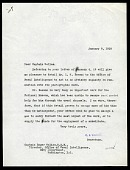 view Letter from Charles D. Walcott to Captain Roger Welles to January 8, 1918 digital asset number 1