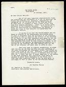 view Letter from Woodrow Wilson to Charles D. Walcott, October 13, 1917 digital asset number 1