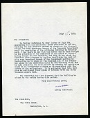 view Letter from William deC. Ravenel to President Woodrow Wilson digital asset number 1