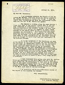 view Letter from William deC. Ravenel to Mr. Henderson, Oct. 19 1918 digital asset number 1