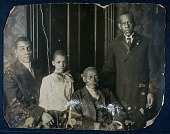 view Solomon G. Brown Papers digital asset: Portrait of the Younger family, relatives of Solomon G. Brown.