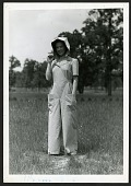 """view The """"Coverette"""" garment (a jumper slack suit) designed by the U.S. Department of Agriculture for female farm workers during World War II digital asset number 1"""
