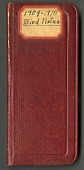 view Notes on birds observed and migratory patterns of birds around Washington, D.C., and vicinity, 1909-1910 digital asset number 1