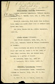 view Specimen lists, Haiti, 1929 digital asset number 1
