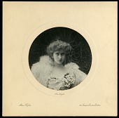 view Alice Pike Barney Papers digital asset: Alice Hughes - Photo by E. J. Rosenberg, London - 95a/612. [Image No. SIA2015-006896]
