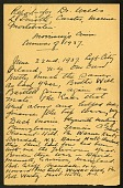 "view ""Greenland Expedition of 1937,"" handwritten report by Robert A. Bartlett digital asset number 1"