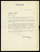 view Correspondence, 1924. Includes correspondence of William Harding Longley digital asset: Letter from W. H. Longley to Dr. Waldo L. Schmitt, dated October 25, 1924 [Image No. SIA2016-005367]