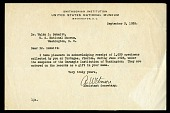 view Tortugas Laboratory Trips, 1924-1925 : Correspondence, 1925, Includes correspondence of William Harding Longley and John C. Merriam digital asset number 1