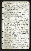view Field journal of Heller December 1915 to February 1916 digital asset number 1