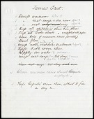 view William Jones Rhees Collection digital asset: List of Duties for James Gant [Image No. SIA2016-011428]