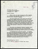 view Letter from S. Dillon Ripley to John J. Rooney, dated February 21, 1974 digital asset number 1