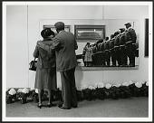 "view Couple Enjoys ""Black Wings"" exhibit, Anacostia Museum digital asset number 1"