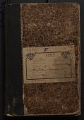 view Field notes, Iowa, 1909 (F) digital asset number 1