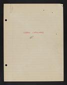 view Cebus capucinus (White-throated capuchin), Barro Colorado Island, Panama, 1958-1961, 1966 digital asset number 1