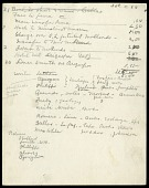 view South America, itinerary, and expense record, 1908-1909 digital asset number 1