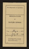 view Utah 1916 : Expense books and bank statements digital asset number 1