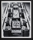 view Concept Model of Interior for the New National Air Museum digital asset number 1