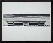 view Concept Model of Exterior for the New National Air Museum digital asset number 1