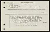 view United States Navy Galapagos Expedition, 1941 : expense account and travel voucher digital asset number 1