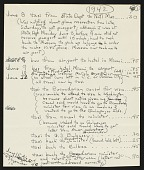view United States Navy Galapagos Expedition, 1942 : expense account and travel vouchers digital asset number 1