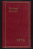 view Diary, 1956 digital asset number 1