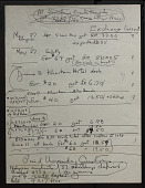 view Smithsonian-Bredin Belgian Congo Expedition, 1955 : expense account and receipts digital asset number 1