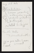 view Smithsonian-Bredin Belgian Congo Expedition, 1955 : miscellaneous notes (2 of 4) digital asset number 1