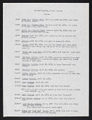 view Smithsonian-Bredin Society Islands Expedition, 1957 : list of soil samples collected digital asset number 1