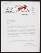 view Alaska King Crab Investigation, 1940 : correspondence N-Z digital asset number 1