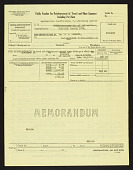 view Hancock Pacific-Galapagos Expeditions, 1933-1935 : Travel vouchers and bills of lading digital asset number 1