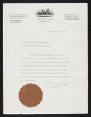 view Hancock Pacific-Galapagos Expeditions, 1933-1935 : correspondence digital asset number 1