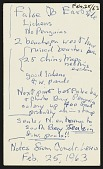 view Palmer Peninsula (Antarctica) Survey, 1962-1963 : miscellaneous notes digital asset number 1